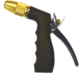 Water Nozzle - Black - Brass Head / GHN-BN