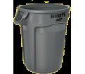 Garbage Can - Resin - Grey / 26 Series *NO LID
