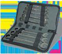 12 Piece Flex-Head Ratcheting Wrench Set