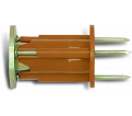 Concrete Insert Anchor - Cast-in-Place - Form / 075 Series *WOOD KNOCKER®