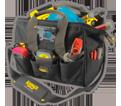 "Lighted Tool Bag - 29 Pocket - 14"" - Poly Fabric / L230"