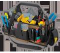 "Tool Bag - 43 Pocket - 23"" x 12"" - Poly Fabric / SW1530"