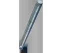 """Threaded Rod 1-1/8"""" UNC - Grade A / Zinc"""