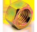 Hex Nut - Grade 8 / Yellow Zinc