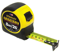 Tape Measure - 26'/8m - Imperial & Metric / 33-726