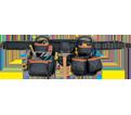Tool Belt - 27 Pocket - Ballistic Nylon & Leather/ 51452