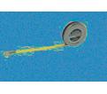 "1/4"" x 6' - Executive® Diameter 100ths Pocket Tape Measure"