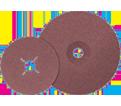 """Fiber Disc - Aluminum Oxide - 4-1/2"""" Dia. / COOLCUT™"""