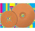 "Fiber Disc - Zirconium - 5"" Dia. / COOLCUT XX™"