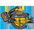 "Circular Saw - 7-1/4"" - 20V/60V Li-Ion / DCS575 Series *FLEXVOLT™"