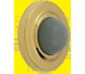 Door Stop - Convex - Brass Plating / 16-4801