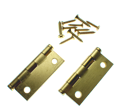 "Cabinet Hinge 2"" - Satin Brass Plating / 69-0150"