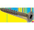 Flat Head #10 Roberston Wood Screws / Lubricized® (BULK)