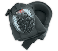 Kneepads - Black - Gel - Ballistic Poly Fabric / KP340