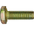 "Hex Head Cap Screw 3/4"" UNF - Grade 8 / Yellow Zinc"
