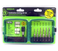 6-Piece Combo Drill & Tap Set