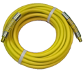 "Air Hose - 3/8"" MPT - P.V.C. / PA6YEL-100C *CONTRACTOR GRADE"