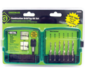 6-Piece Combo Drill and Tap Bit Set