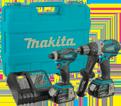 2 Tool Combo Kit - 18V Li-Ion / DLX2015M *LXT