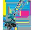 Cultivator (Kit) - 2x 18V Li-Ion / HKU01ZX2 *LXT