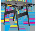 Workbench - Folding - Portable / DWST11556 *EXPRESS