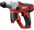 "Rotary Hammer (Tool Only) - 1/2"" SDS-Plus - 12V Li-Ion / 2412-20 *M12™"
