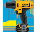 """Drill/Driver (Kit) - 3/8"""" Chuck - 12V Max Li-Ion / DCD710S2"""