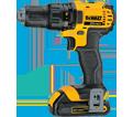 """Drill/Driver (Kit) - 1/2"""" Chuck - 20V Max Li-Ion / DCD780C2"""