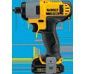 "Impact Driver (Kit) - 1/4"" Hex - 12V Max Li-Ion / DCF815S2"