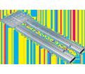 "Telescoping Screw Gun Box Bracket - 15-3/4"" – 25"" - Steel / TSGB1624 *PREGALVANIZED"