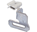 "90° Hammer-On Strap Hanger - 1/8"" – 1/4"" - Steel / MSR24 *CADDY®ARMOUR"