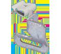 "90° Hammer-On Strap Hanger - 5/16"" – 1/2"" - Steel / MSR58 *CADDY®ARMOUR"