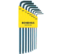 Hex Key Set - L-Wrench - Ball End - SAE - 8 pc / 10932 *BALLDRIVER