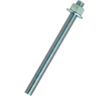 """Anchor Rod Assembly - 3/4"""" dia. - Zinc Plated Steel / PRA"""