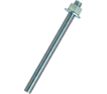 """Anchor Rod Assembly - 5/8"""" dia. - Zinc Plated Steel / PRA"""
