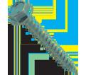 Hex Washer Head 8-15 Sharp Point Self-Piercing Screw / Stainless Steel (BULK)