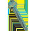 Hex Washer Head 8-18 Self-Drilling TEK Screw / Zinc Plated (JUG)