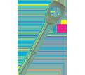 """Tie Wire Wedge Anchor - 1/4"""" x 2"""" / Steel (PKG)"""