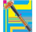 "Super Heavy Duty Ball Pein Hammer - 24 oz. x 14"""