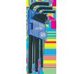 9 Piece Ball Nose Hex Key Set / 775184