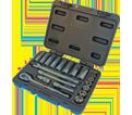 "Chrome Socket Set - 3/8"" - 6 Point / 600229 *21 Pc"