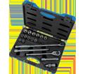 "Chrome Socket Set - 1/2"" - 6 Point / 600326 *19 Pc"