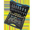 "Chrome Socket Set - 1/2"" - 6 Point / 600341 *55 Pc"