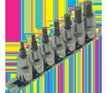 """Chrome Socket Set - 3/8"""" - Hex / 601201 *7 Pc"""