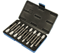 "Chrome Socket Set - 1/4 & 3/8"" - Hex Bit / 601808 *14 Pc"