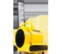 Air Mover - 1800 CFM - Yellow / 10301 *SHOP AIR