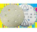 "Sanding Discs - 6"" 6H - Alum Oxide / PS33 Series (10 PK)"