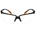 Safety Glasses - Polycarbonate - Plastic Frame / 12262 *PRIVO™