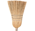 Corn Broom - Heavy-Duty - Corn / 762 *WOLF