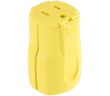 3-Wire Female Connector - 15A - Yellow / AH5969Y *ARROWHART